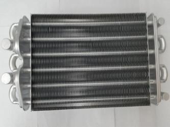 Би-термический теплообменник 24кВт (252мм трубки 18/12мм для котлов после 07/2013)